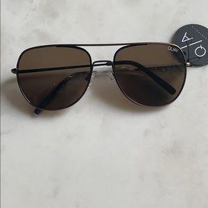 Quay Australia bronze brown sunglasses